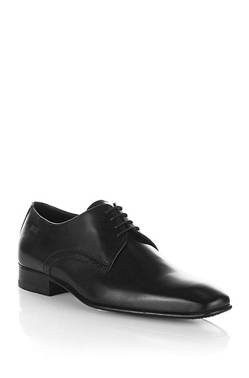 Leather designer Derby 'MELZIO', Black