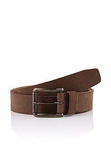 Belt in genuine, garment-washed leather 'JASSON'
