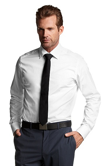 Business shirt 'Stirling', White