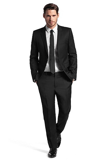 Super Black 130 suit 'Aeron/Hamen', Black