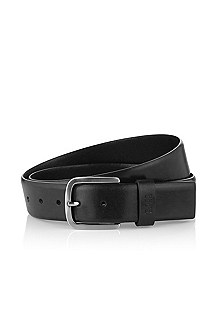 Elegant leather belt 'Sun'