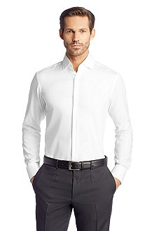 Chemise business à col requin, Gerald
