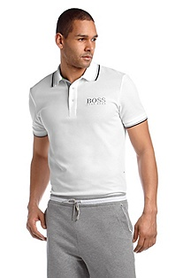 Polo shirt with stripe details 'Paddy Pro'