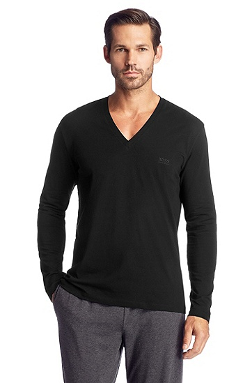 Long-sleeved shirt 'Shirt VN LS BM', Black