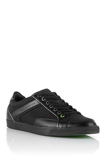 Textile lace-up 'APACHE III', Black