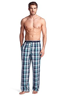 Vichy check pyjama bottoms 'Long Pant EW BM'