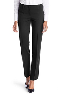 Waist-pleat dress trousers 'Toya'