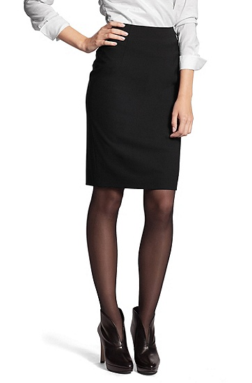 Smart business skirt 'Vilina', Black