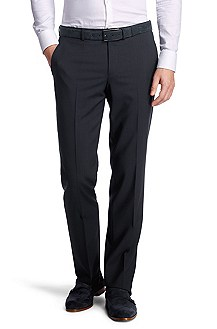 Pure new wool dress trousers 'Shout'