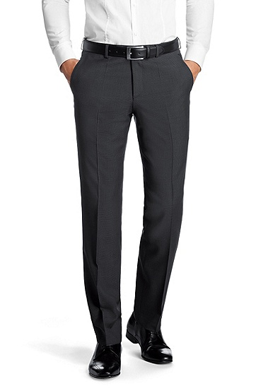 Business trousers 'Shout', Dark Grey