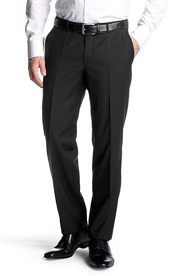 Business trousers 'Shout', Black