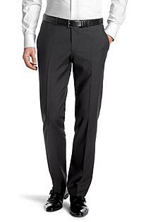 Pure cotton suit trousers 'Shout'