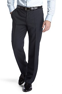 Business trousers in shorn wool ´Movis'
