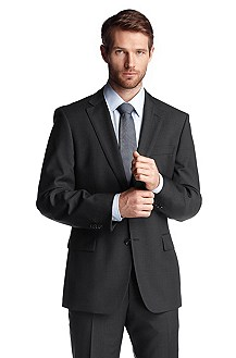 Business jacket in shorn wool 'Pacini'