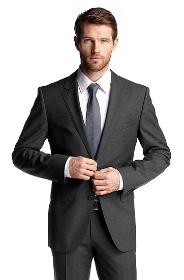 Suit jacket 'The Rider', Dark Grey