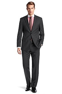 Pure new wool business suit 'Pasini2/Movie2'