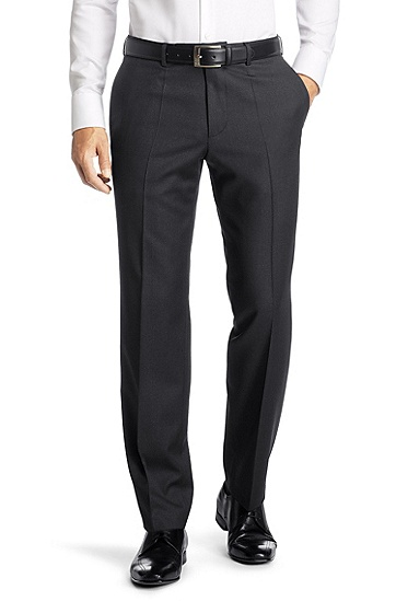 Dress trousers 'Parker3', Dark Grey