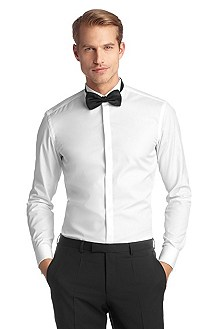 Business shirt with a wing collar 'Illik'