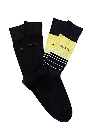 Sock double pack Twopack RS Design`, Yellow