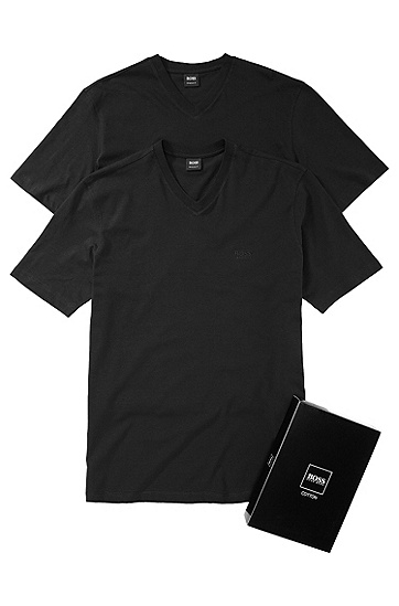 Double pack T-shirt 'Brothers 01', Black