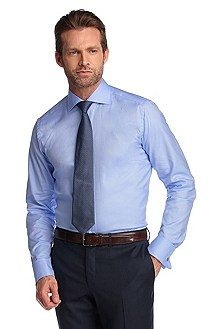 Chemise business de texture luxueuse, Webb