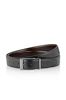Reversible belt with two buckles 'GRAZIO'