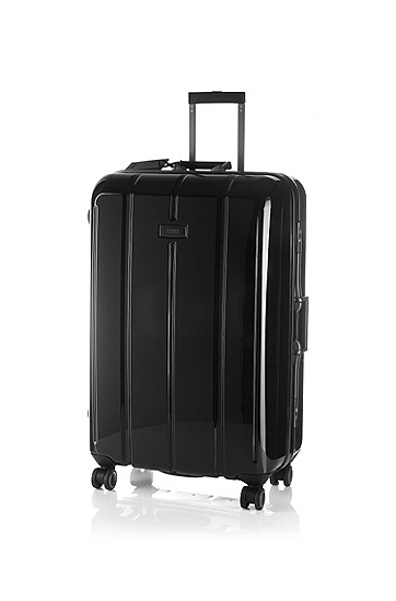 Hard case, 4-wheel trolley 'Scorpio', Black