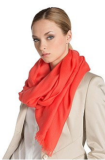 Plain coloured scarf from HUGO ´Women-Z 332`