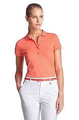 Polo shirt with decorative stripes 'Paulla'