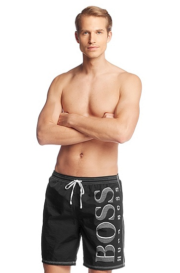 Quick-drying swim shorts 'Killfish BM', Anthracite