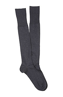 Knee socks with comfortable tops 'George KH Uni'