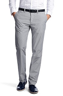 Striped chinos 'Crigan1-10-W'