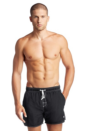 Swim shorts with inner lining 'Lobster BM', Anthracite