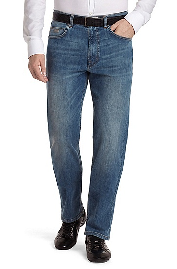 High-quality cotton jeans 'Alabama', Bright Blue