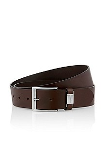 Cowhide leather belt 'Connio'