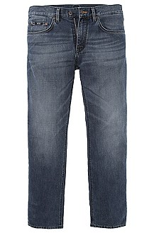Regular fit cotton jeans 'Maine'