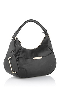 Leather shoulder bag 'Meggy-L'