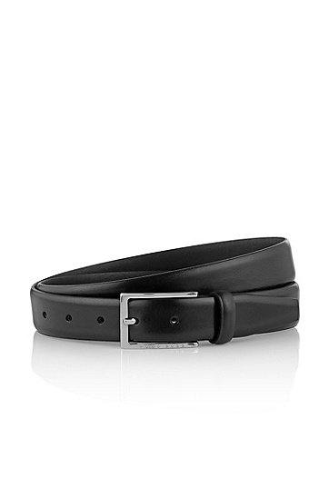 Belt with a pin buckle 'Ceddy', Black