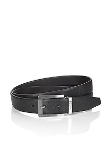 Reversible leather belt 'Osco'