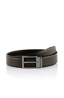 Reversible belt with a pin buckle 'Orlandini'