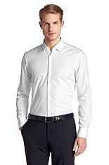 Business shirt with narrow Kent collar 'Jenno'