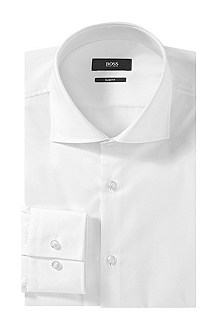 Slim fit business shirt with Kent collar 'Jaron'