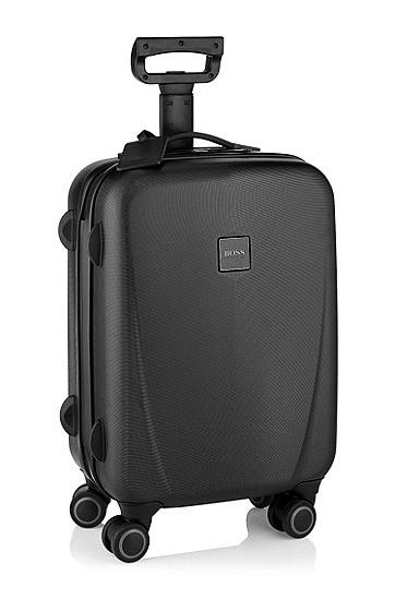 Hard protective case with four wheels 'Arturs', Black