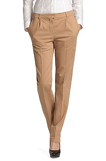 Stretch cotton business trousers 'Allyson'