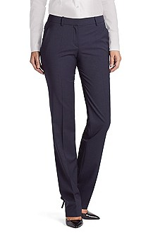 Pinstripe business trousers 'Hinass-5'
