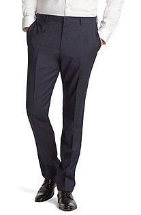 New wool suit trousers 'Hamen'