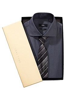 Shirt and tie set 'Jaron_GB'