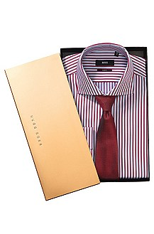 Business shirt and tie set 'Jaron_GB'