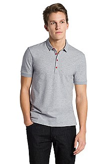 Polo shirt with turn-down collar ´Dolon`