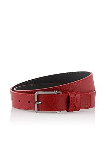 Belt with a square buckle 'Crosby'